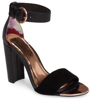 Women's Ted Baker London Secoa Ankle Strap Sandal $164.95 thestylecure.com