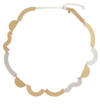 Madewell Two-Tone Flatform Collar Necklace