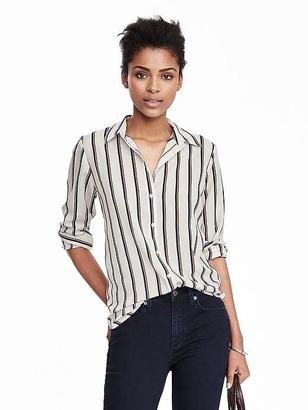 Dillon-Fit Striped Shirt $78 thestylecure.com