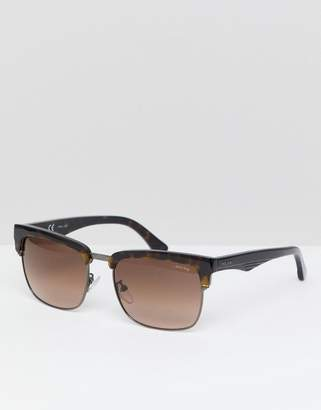 Police Retro Sunglasses In Tort