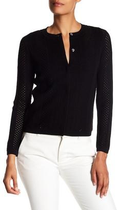 Diane von Furstenberg Lynne Textured Stripe Cardigan $348 thestylecure.com