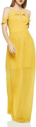 BCBGeneration Cold Shoulder Maxi Dress