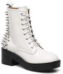 Jeffrey Campbell Women's 8Th Street Ankle Boots In White - Size Uk 5 / Eu 38