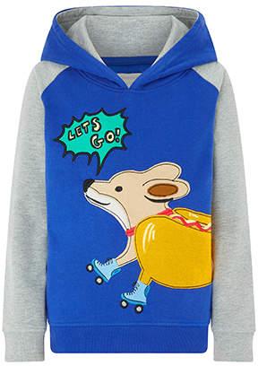 Monsoon Skater Dog Hoodie