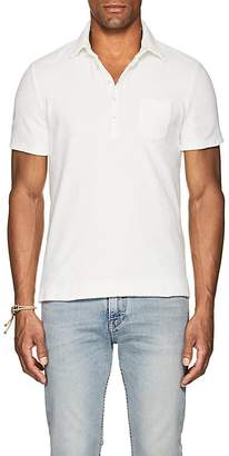 Massimo Alba Men's Cotton French Terry Polo Shirt