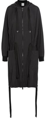 DKNY - Shell Parka - Black $600 thestylecure.com