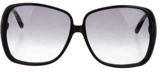Saint LaurentYves Saint Laurent Oversize Gradient Sunglasses