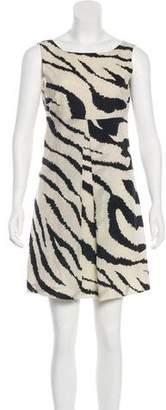 Tibi Printed Sleeveless Dress