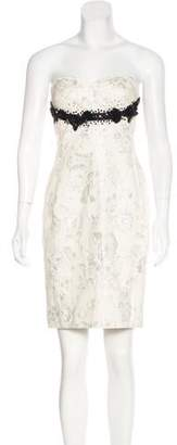 Derek Lam Beaded Brocade Dress
