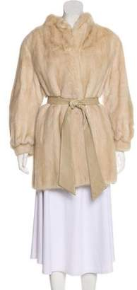 Mink Fur Short Coat