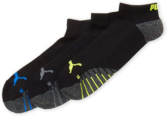 Puma 3-Pack Grip Low-Cut Socks
