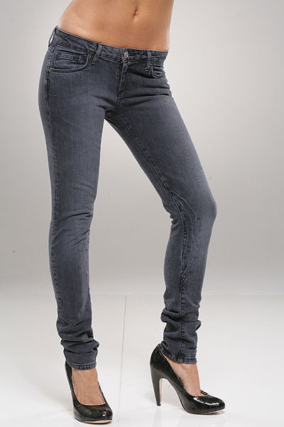 The Unknown Factory Skinny Biker Jeans