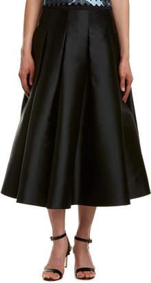 Sachin + Babi Till Silk-Blend Maxi Skirt