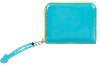 Jimmy Choo Jimmy Choo Patent Leather Compact Wallet