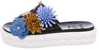 Kartell Floral Slide Sandals