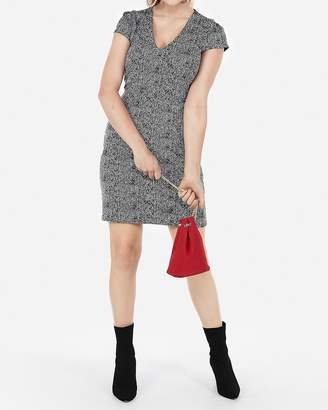 Express Petite Seamed Sheath Dress