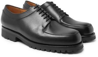 J.M. Weston Plateau Full-Grain Leather Derby Shoes