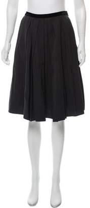 Lanvin Wool Knee-Length Skirt