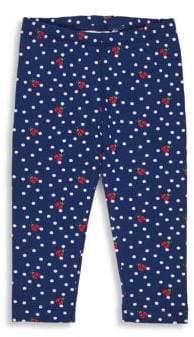 Florence Eiseman Little Girl's Ladybug Polka Dot Leggings