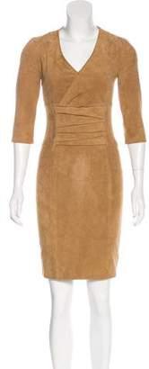 Jitrois Suede Mini Dress