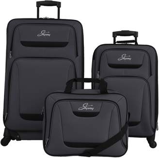 Skyway Luggage Glacier Peak 3-Piece Luggage Set