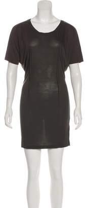 Acne Studios Mini Short Sleeve Shirtdress