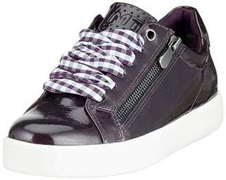 Marco Tozzi Women's 23741-31 Low-Top Sneakers, (Purple Patent 557)