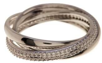Nadri Trinity Eternity Pave CZ Ring - Size 8