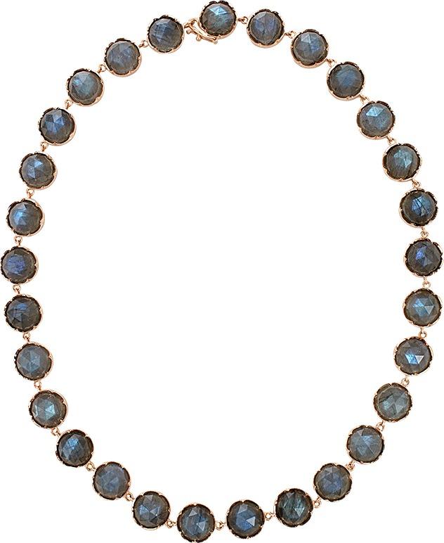 Irene Neuwirth JEWELRY Rose Cut Labradorite Necklace
