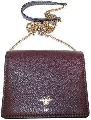 Christian Dior D-Bee leather mini bag