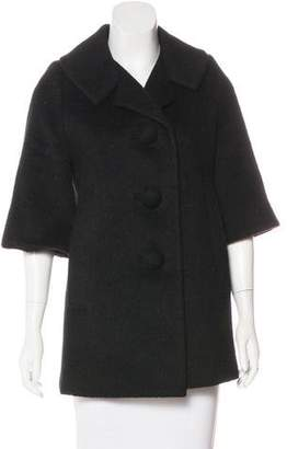 Smythe Short Wool-Blend Coat
