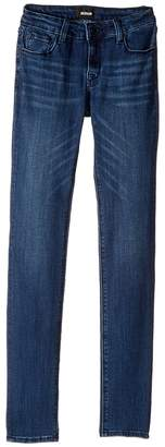 Hudson Christa Five-Pocket Skinny Jeans in Presden Blue Girl's Jeans