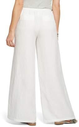 Nic+Zoe Refreshed Wide Leg Linen Blend Pants