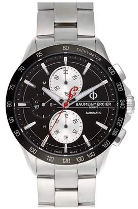 Baume & Mercier BAUME AND MERCIER Clifton Limited Edition Automatic Bracelet Watch, 44mm