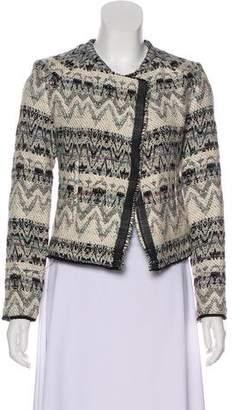 IRO Open Front Tweed Jacket