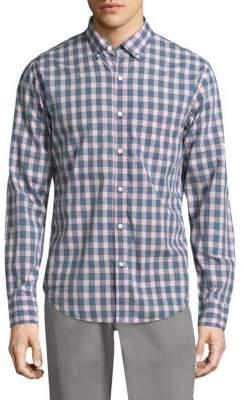 Bonobos Summerweight Slim-Fit Checkered Button-Down Shirt