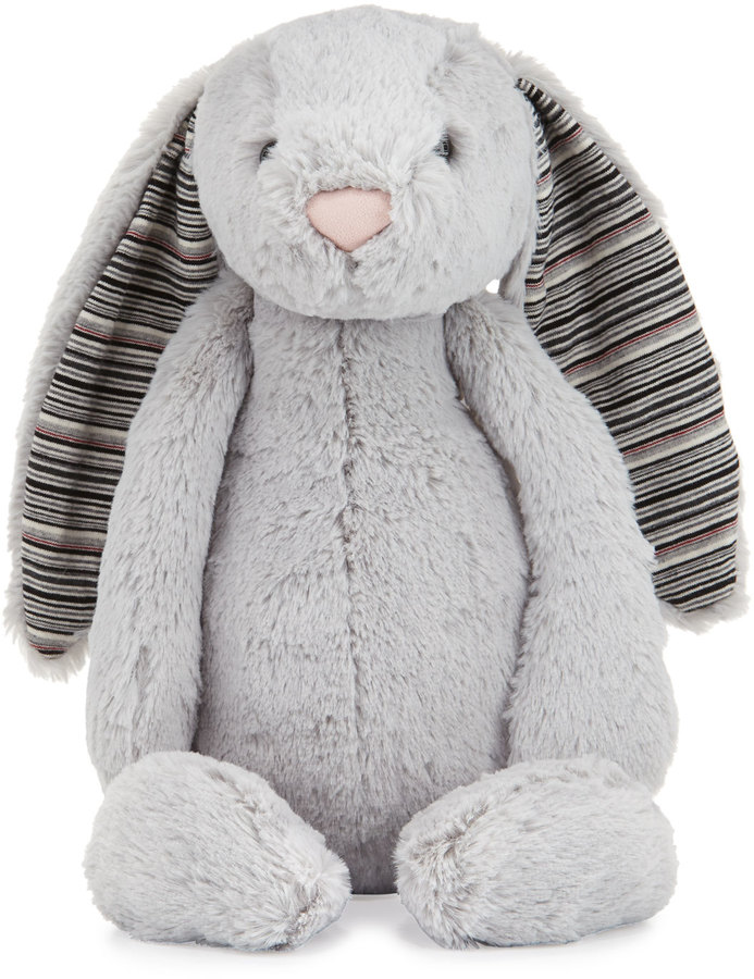Jellycat Large Bashful Blake Bunny Stuffed Animal, Gray 2