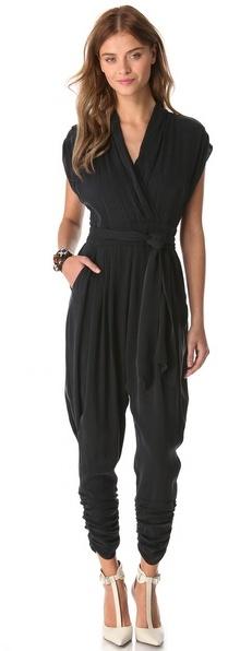 Catherine Malandrino Favorites Cap Sleeve Jumpsuit