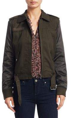 Paige Sheryl Olive Military Bomber