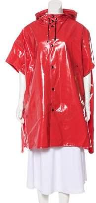 Stutterheim Hooded Knee-Length Rain Coat w/ Tags