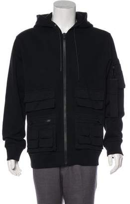 Givenchy Utility Zip-Up Hoodie