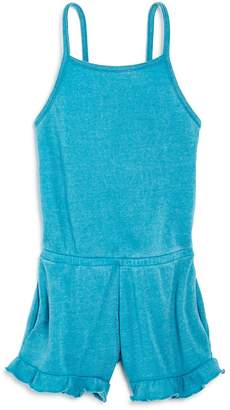 Vintage Havana Girls' Burnout Fleece Romper