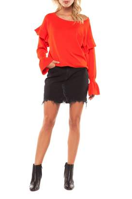 Dex Flutter Sleeve Sweater