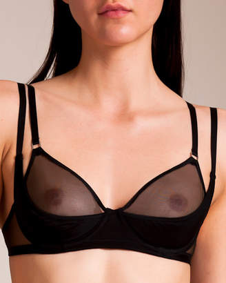 Maison Close Liaison Fatale Demi-Cup Bra