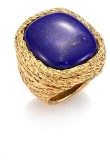 Aurelie Bidermann Miki Lapis Lazuli Ring