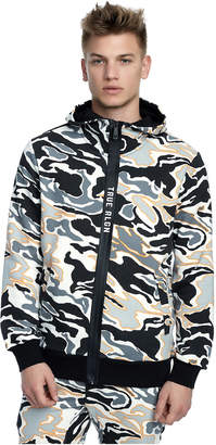 True Religion CAMO ZIP UP MENS HOODIE