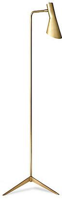 One Kings Lane Penelope Floor Lamp - Brass