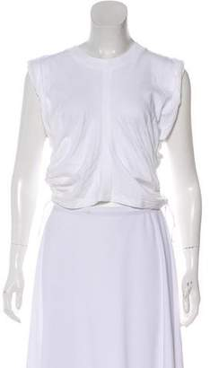 Alexander Wang Accented Short-Sleeve Top w/ Tags
