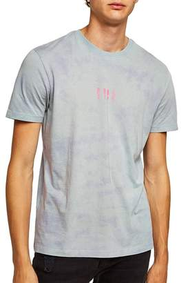Topman Tie Dye Pool Graphic T-Shirt