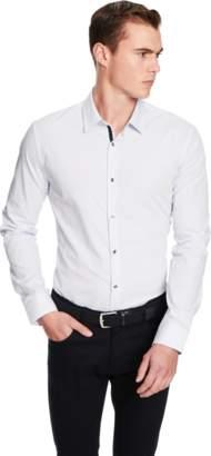 yd. WHITE CARLISLE DRESS SHIRT